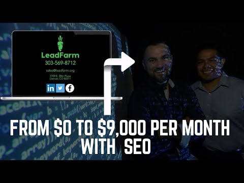 How Craig & Tony Assemble $32,000 For Every internet web page positioning Contract They Signal