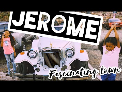 Jerome, Spell binding Town in Central Arizona: Full Time RV Life With Younger of us