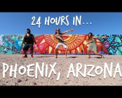 24 HOURS in PHOENIX, ARIZONA – USA Bro Day shuttle Ep four